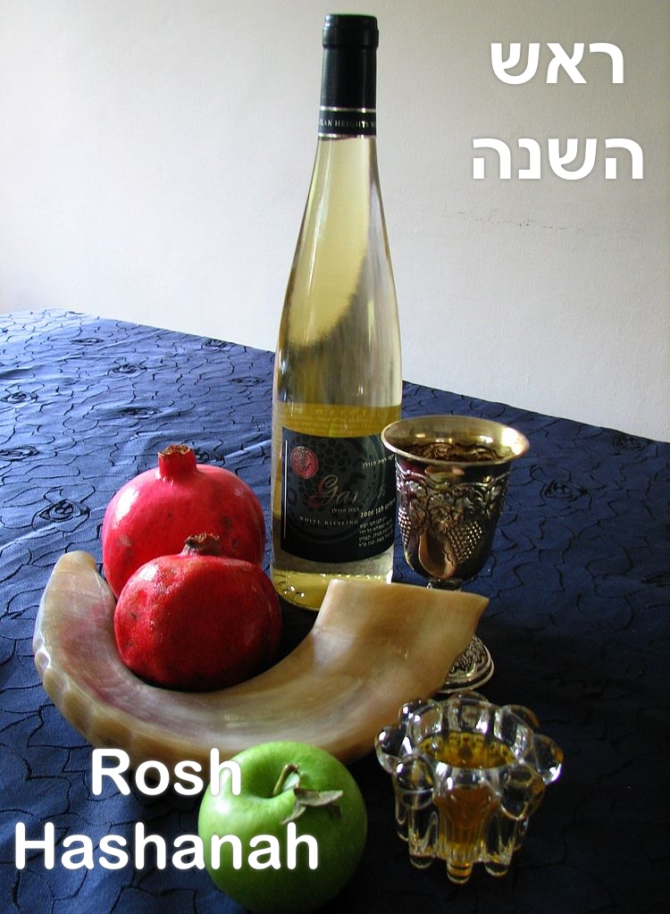 Jewish New Year: word and symbols