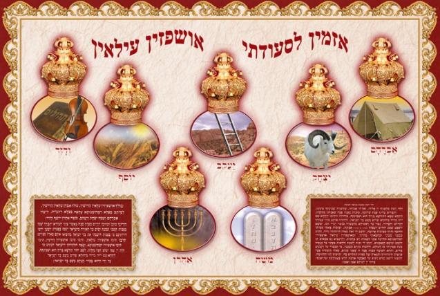 Ushpizin - the Sukkot Guests -  אושפיזין